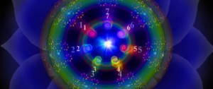 7 rays and circles